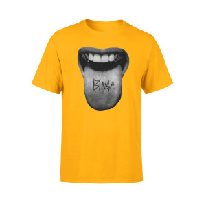 Tongue T-Shirt (Yellow)