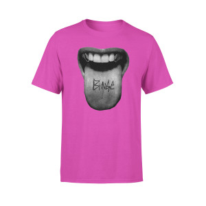 Tongue T-Shirt (Pink)