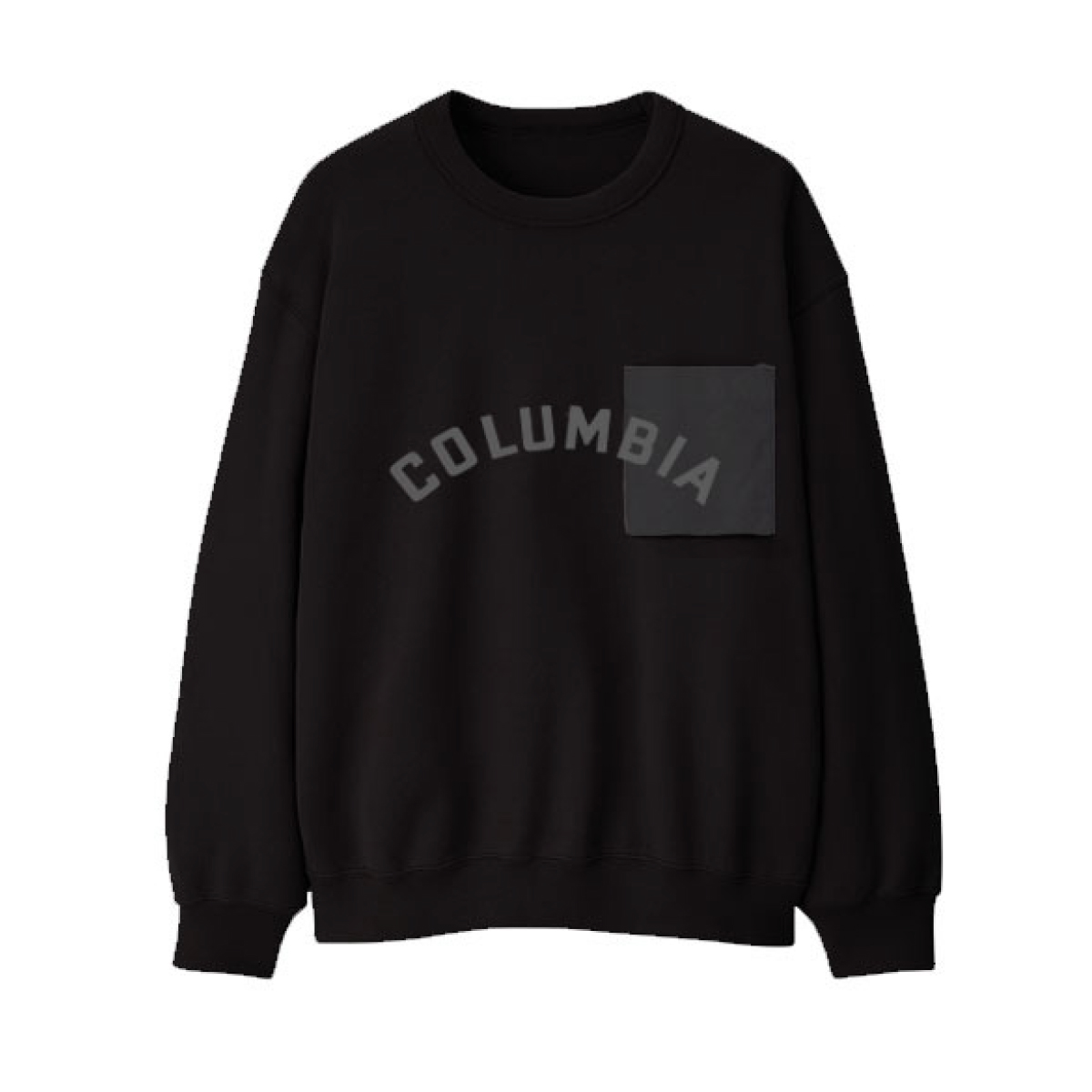 Columbia Records Black Patch Crewneck