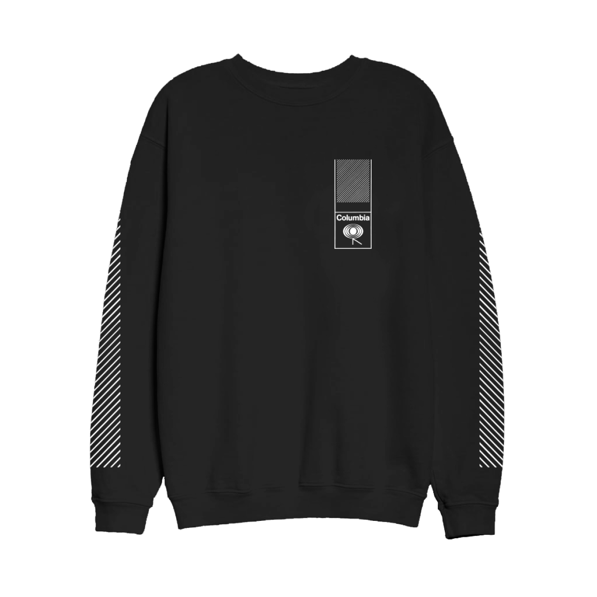 Columbia Records Black Strip Long Sleeve