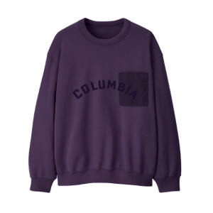 Columbia Records Purple Patch Crewneck