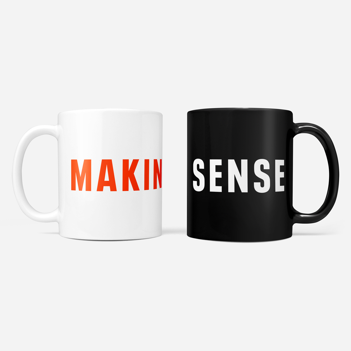 Making Sense Mug Set