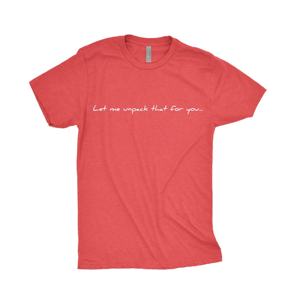 Unpack T-Shirt [Black/Red]