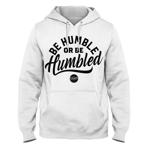 sale retailer aa3d3 d7ecb Humble Pullover Hoodie [White] | Shop the Be Humble ...