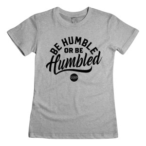 Humble Women's T-Shirt [Heather Gray]