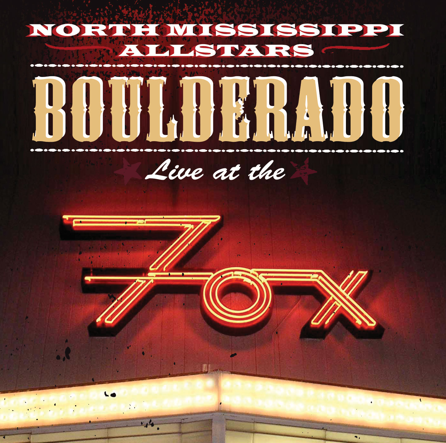 Boulderado - Live at the Fox CD