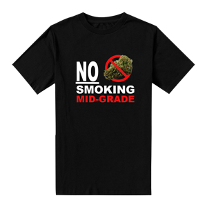 No Smoking Mid Grade T-Shirt