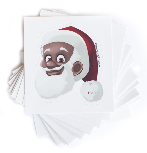 Clarence Claus Gift Label | Shop the Greentop Gifts Official