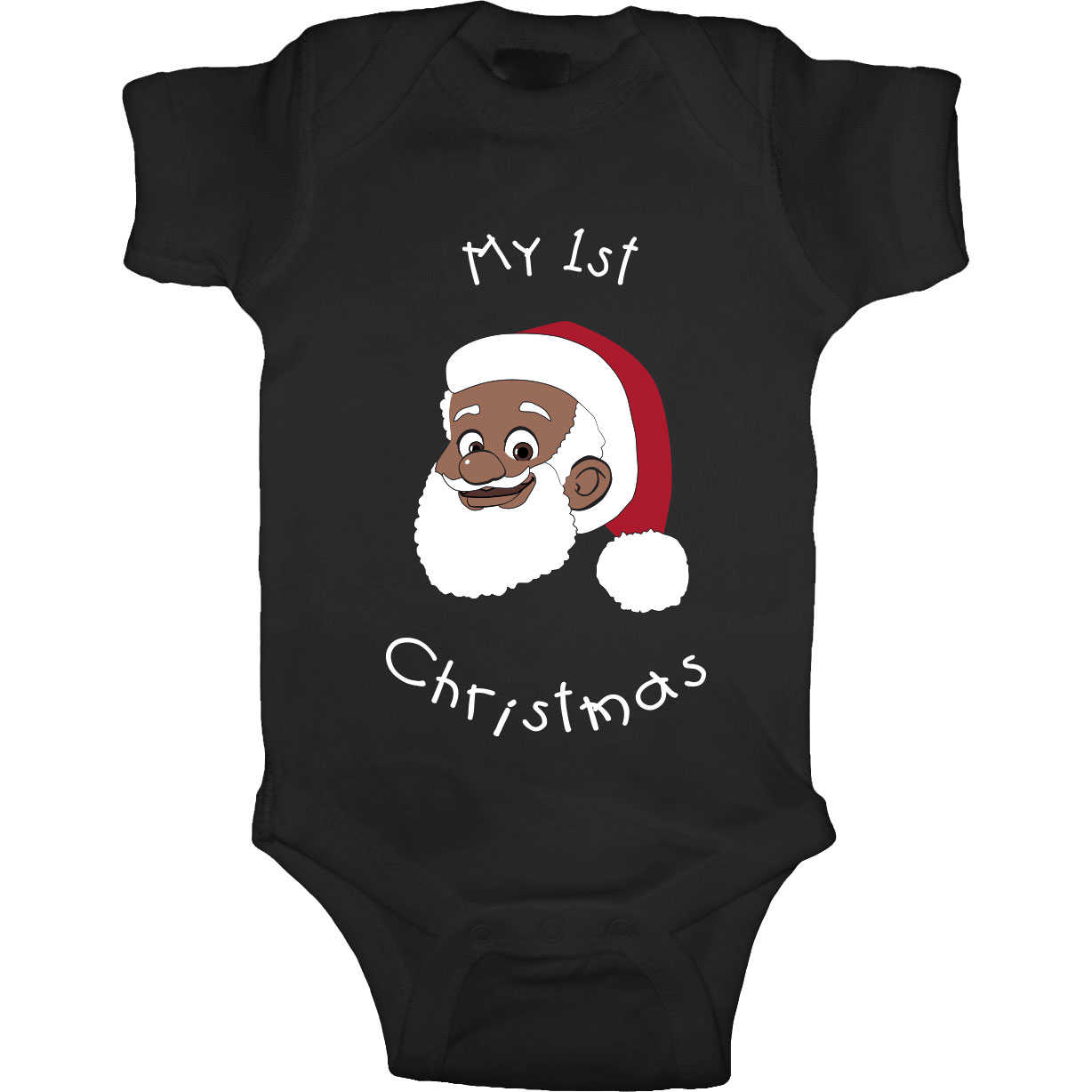 My 1st Christmas Onesie [Black]