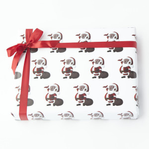 Clarence Claus Gift Wrap