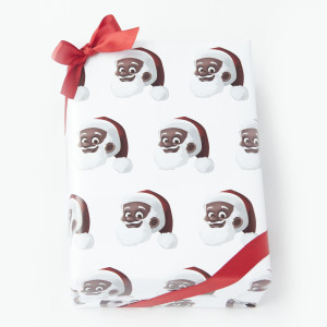 Clarence Claus Close Up Gift Wrap
