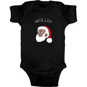 Nice List - Onesie [Black]