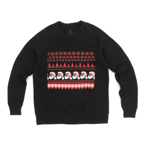 Clarence Claus Ugly Christmas Sweatshirt