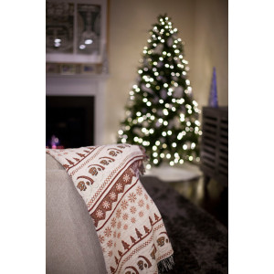 Clarence Claus Woven Throw