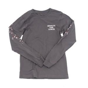 Hibachi for Lunch Long Sleeve Shirt [Asphalt]