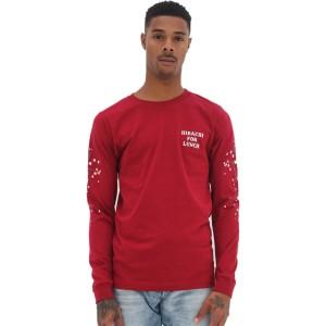 Hibachi for Lunch Long Sleeve Shirt [Cardinal]