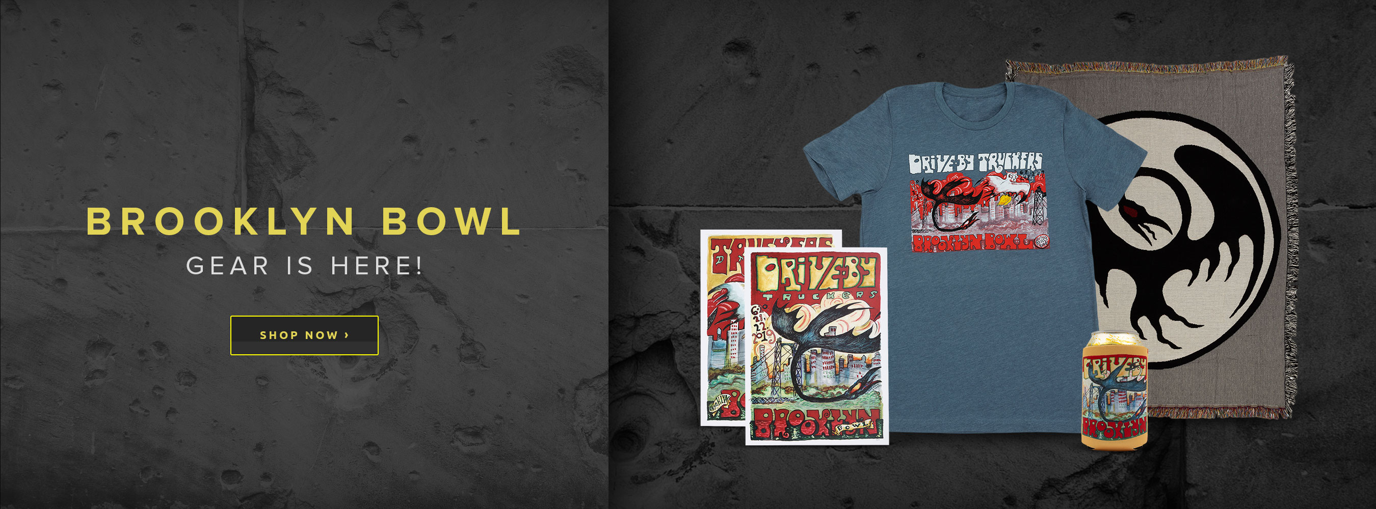 DBT Brooklyn Bowl 2019 Merchandise Now Available
