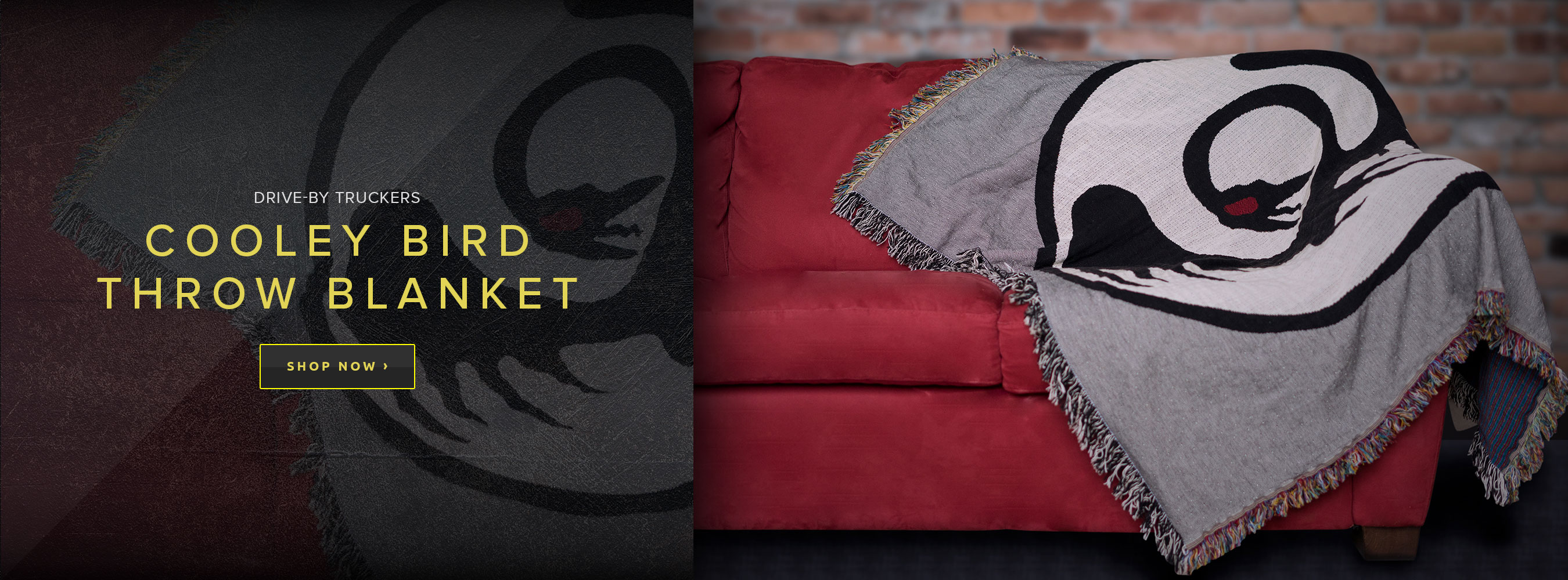 The Flying Cooley Bird Throw Blanket