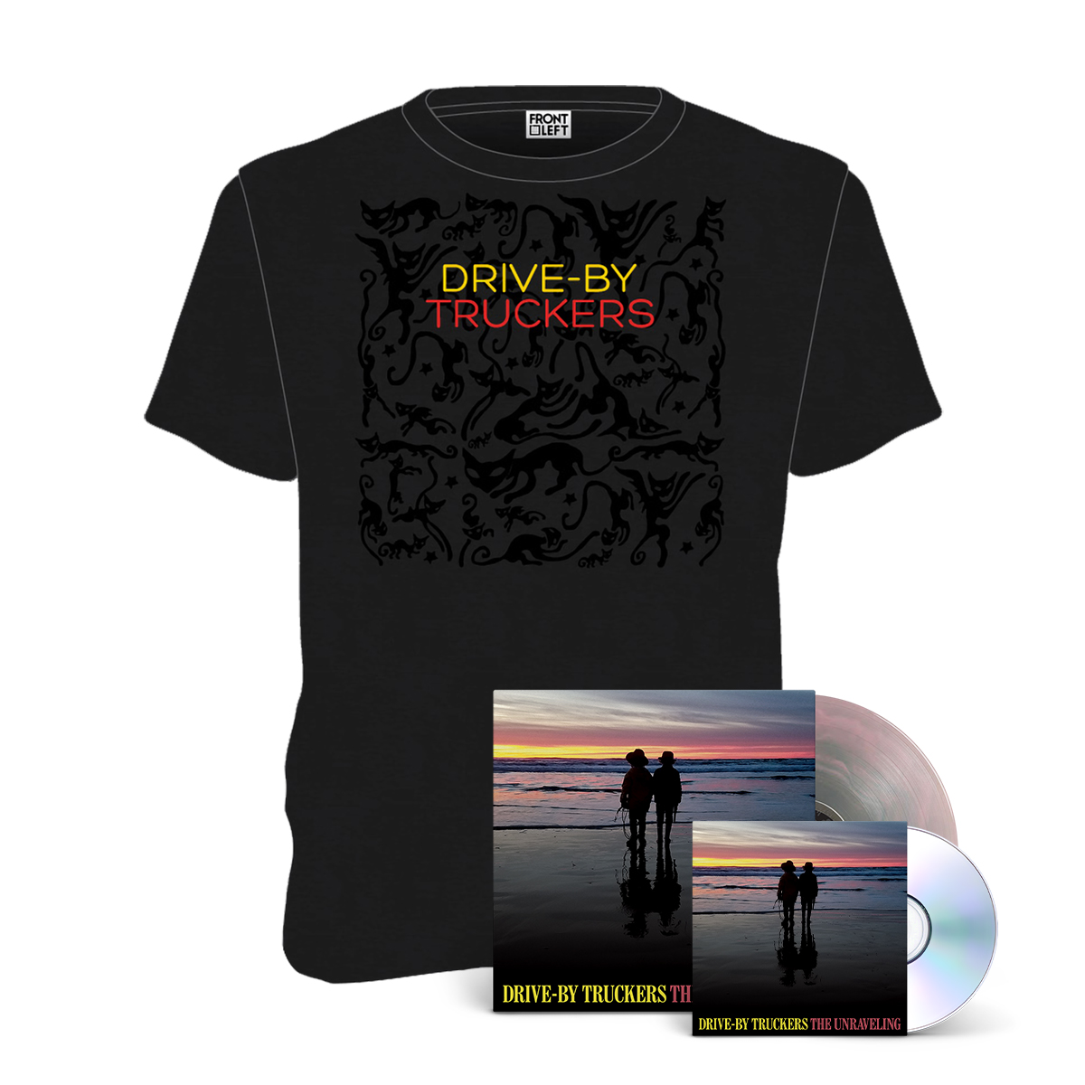 The Unraveling CD or LP + T-Shirt Bundle