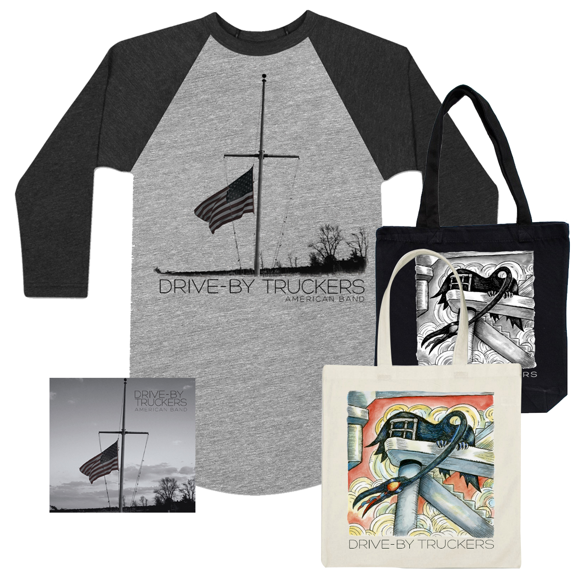 American Band CD, Shirt & Tote Bundle