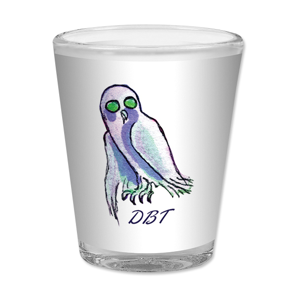 Drive-By Truckers Owl Shot Glass