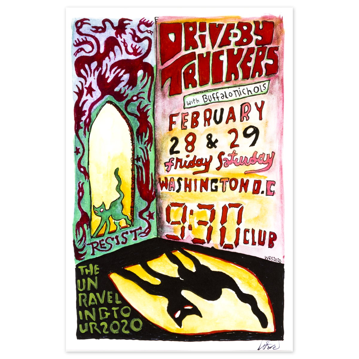 9:30 Club February 28-29 2020 Poster
