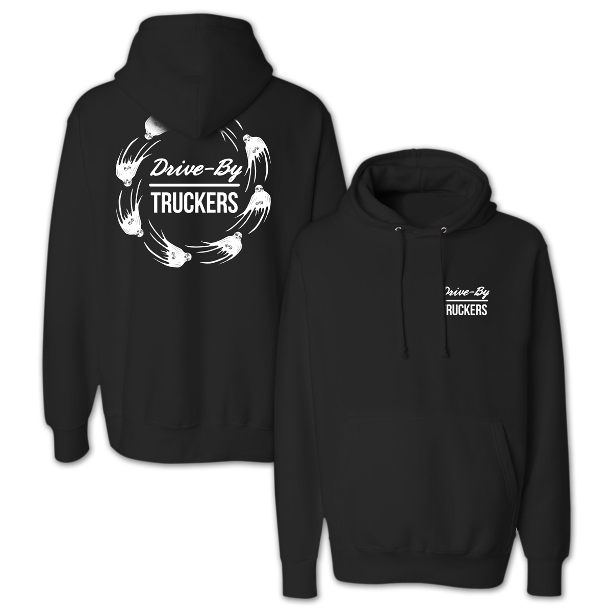 Drive-By Truckers Circle Ghosts Hoodie