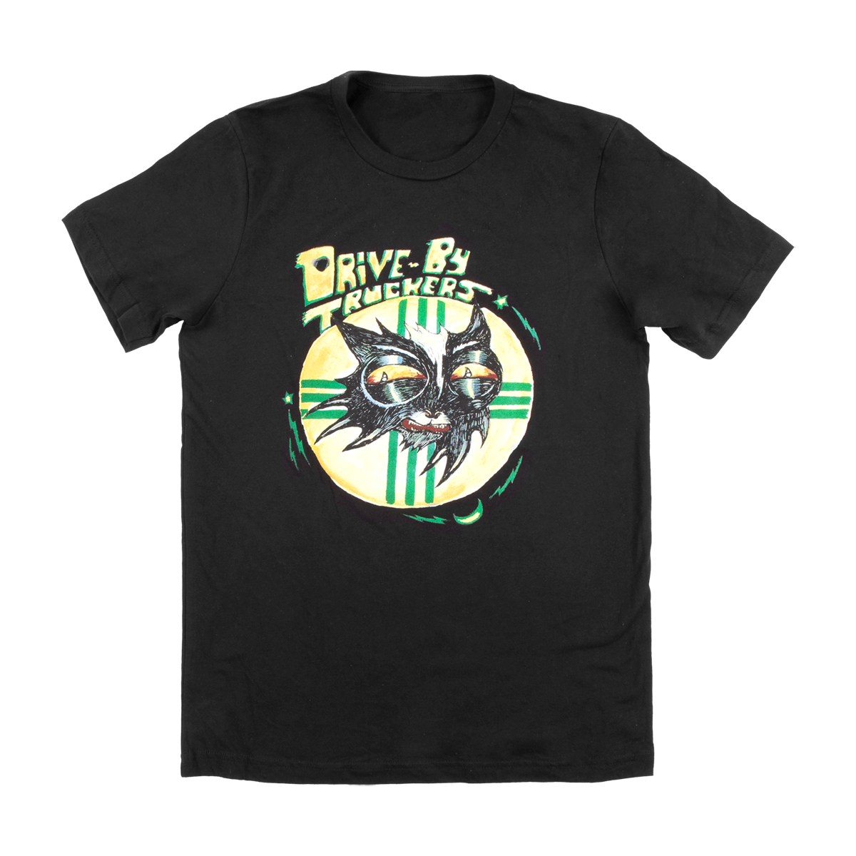 Black Cat Logo T-Shirt