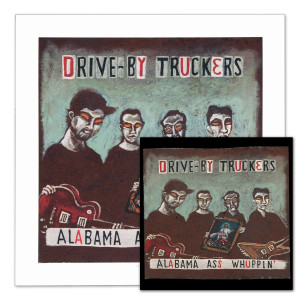 Drive-By Truckers Alabama Ass Whuppin' CD & Print Combo