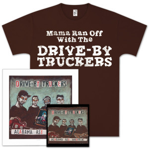 Drive-By Truckers Alabama Ass Whuppin' CD, T-shirt, and Print Combo