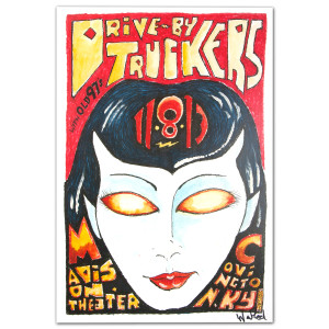 Drive-By Truckers - November 8, 2013 Madison Theater Poster