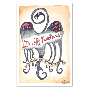Drive-By Truckers January 31 - February 1, 2014 Poster