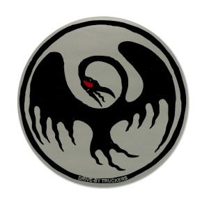 DBT - Silver Cooley Bird Sticker