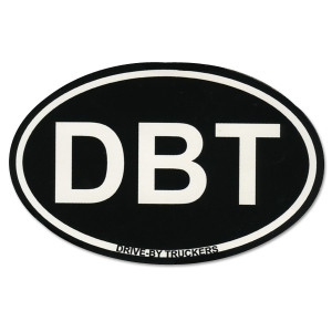 Oval DBT Sticker