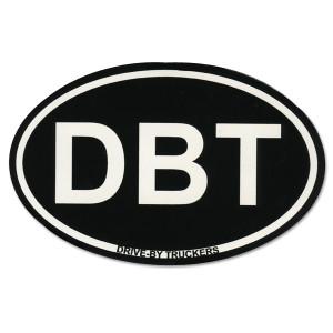 Oval DBT Sticker