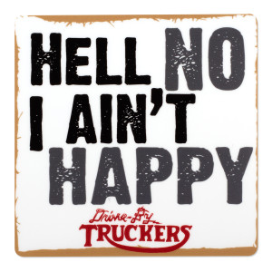 Drive-By Truckers- Hell No I Ain't Happy Sticker