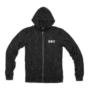 DBT Lightweight Zip-Up Logo Hoodie