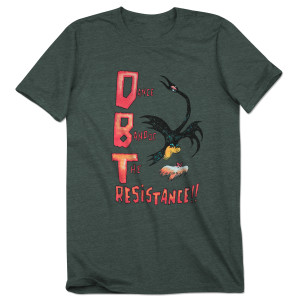 DBT Dance Band of the Resistance Tee