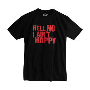 Hell No T-Shirt – with Collar Logo