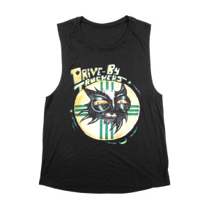 Black Cat Logo Tank