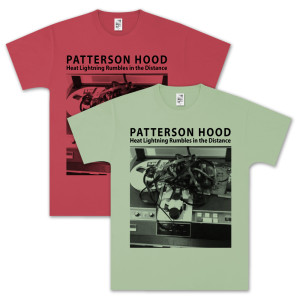 Patterson Hood - Heat Lightning Rumbles In The Distance T-Shirt - SM Only