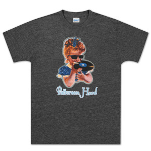 Patterson Hood Record Eater Charcoal Tee