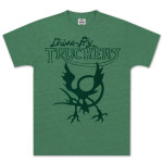 Drive-By Truckers Green Cooley Bird T-Shirt