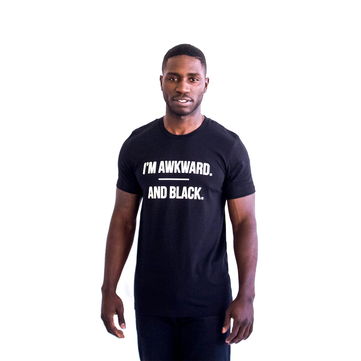 Awkward & Black T-Shirt [Black]