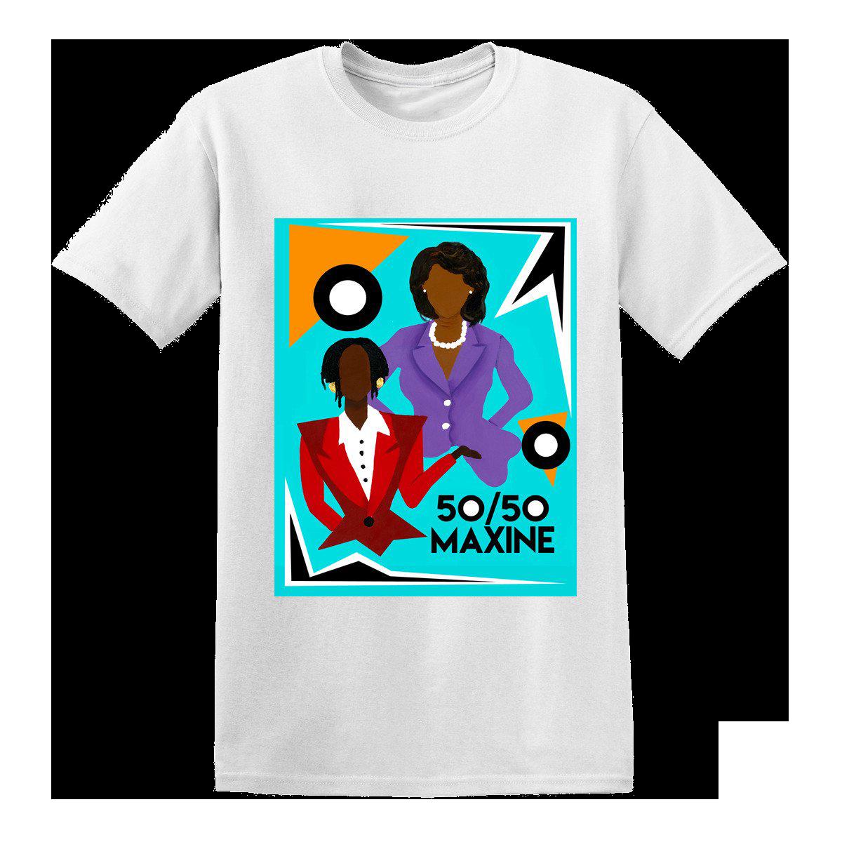 50/50 Maxine T-Shirt [White]