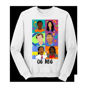 OG ABG Sweatshirt [White]