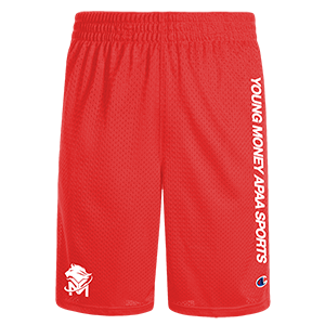 Young Money APAA Sports Mesh Shorts