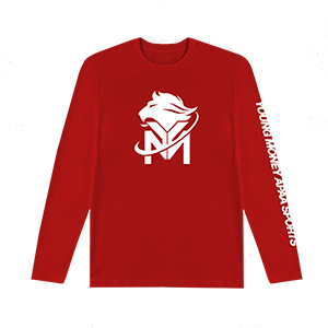 Young Money APAA Sports Long Sleeve Tee [Red]