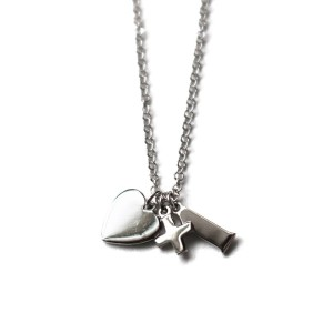 Silver Love+1 Necklace