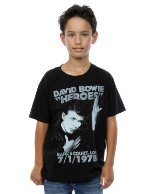 David Bowie Boys Earls Court Heroes T-Shirt
